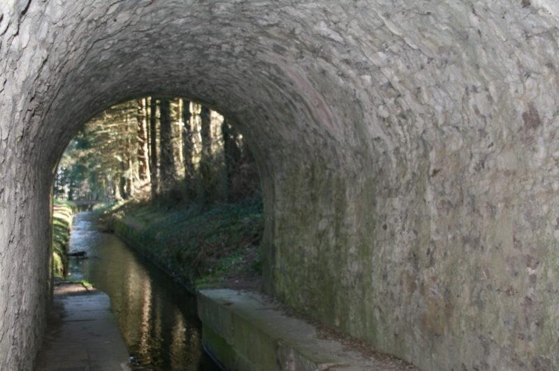 La voûte de Vauban aux Cammazes dans le Tarn proche de Toulouse