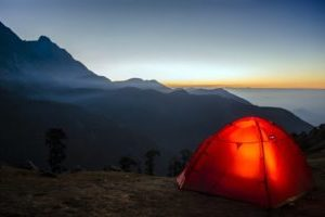 a night tent for the comfort package more